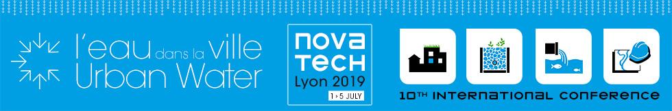 Novatech 2019 - Urban water | 1-5 July - Lyon, France