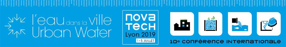Novatech 2019 - Eau dans la ville | 1-5 juillet 2019 - Lyon, France